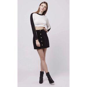 TOPSHOP  Corduroy Skirt Size US2